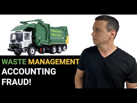 WASTE MANAGEMENT $1.7B ACCOUNTING FRAUD EXPLAINED! AND HOW ARTHUR ANDERSEN HELPED COVER IT UP!