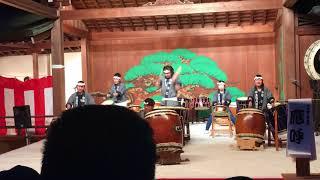 上地八幡太鼓 應呼_20180325_岡崎公園桜祭り 太鼓フェスティバル_燃えいずる時