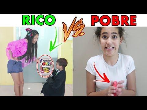 RICO VS POBRE FAZENDO SLIME - Bela Bagunça