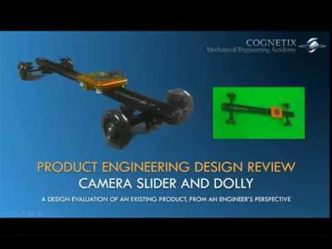 PEDR-1: Product Engineering Design Review of a Camera Slider and Dolly