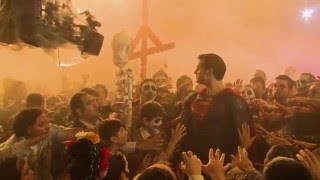 Batman V Superman Behind-The-Scenes Featurettes & B-Roll - Ben Affleck, Henry Cavill, Gal Gadot