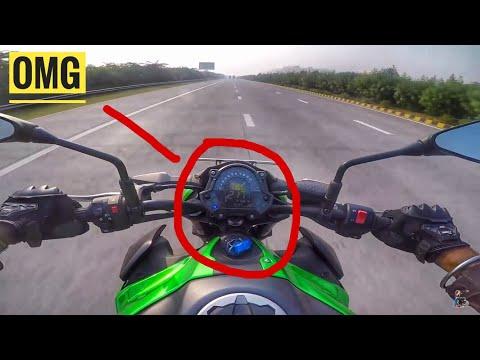 Kawasaki Z900 Top Speed Test Fail ?? 220 Km/h