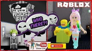 🃏 #Roblox FunHouse! Uma viagem para visitar o Joker ' s Fun House! Acabei sozinho! Aviso alto!