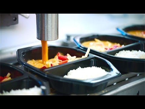 Inside The Ready Meal Factory ★  Awesome Food Processing Mac