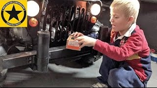 Children Motor-JEEP Police CONVERSION by 3-year old Jack Jack