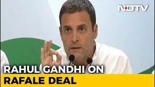 Moment CBI Inquiry Begins In Rafale, PM Knows He's Finished: Rahul Gandhi