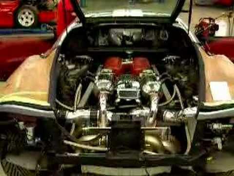Ferrari 360 Modena Twin Turbo (F360TT) - YouTube