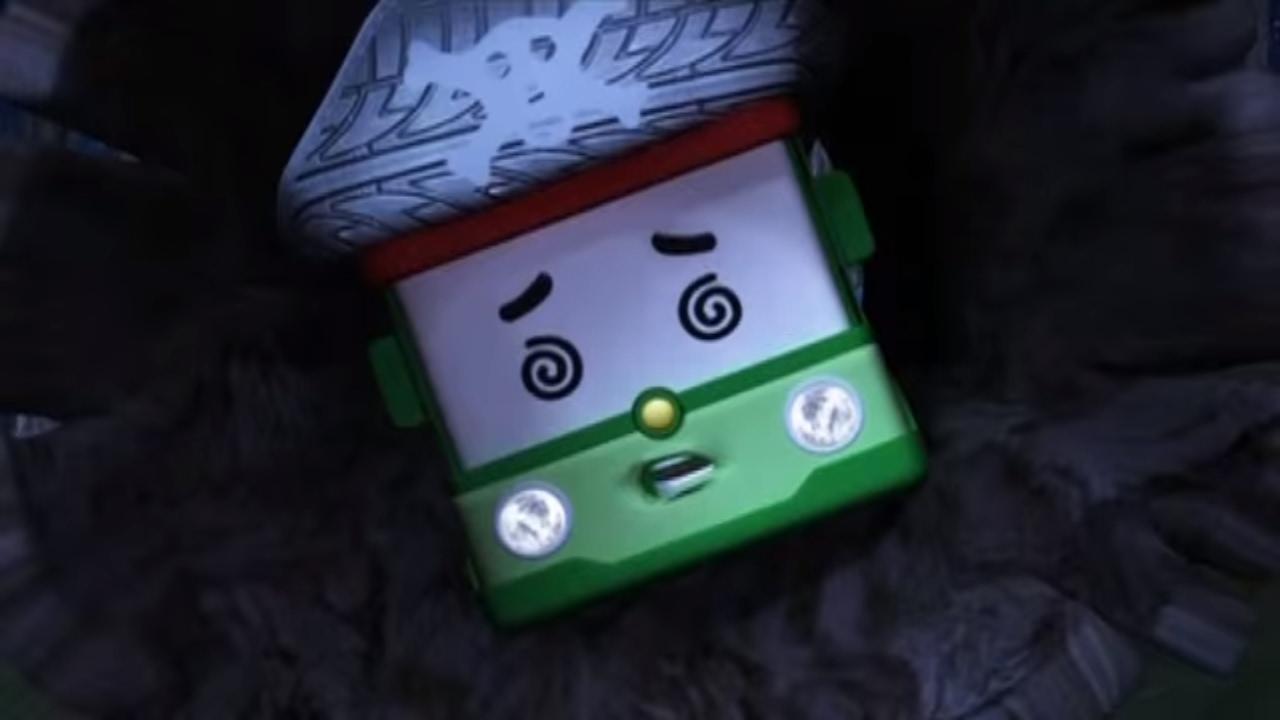 Робокар Поли - Приключение друзей - История с привидением (мультфильм 6) Познавательные мультфильмы