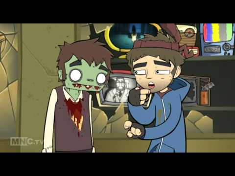 Livin With Steve (Animated Zombie Cartoon) - Livin' Without Steve - Ep6
