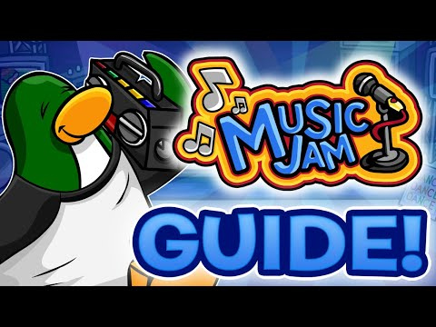 Music Jam 2018 Guide! All Disk and Item Locations! - Club Penguin Rewritten