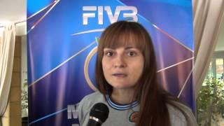 30-09-2014 Intervista ad Antonella Del Core alla vigilia della seconda fase a Bari