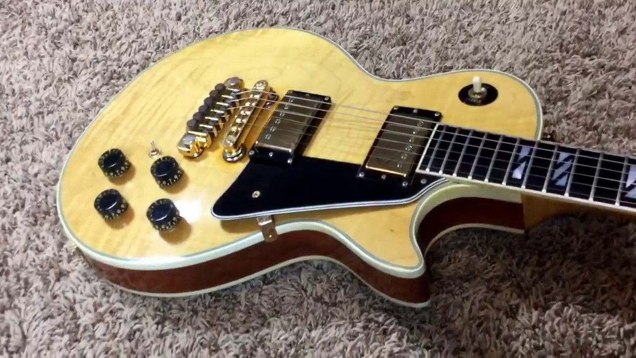 trogly 39 s guitars 1978 gibson les paul 25 50 anniversary natural youtube. Black Bedroom Furniture Sets. Home Design Ideas