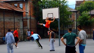 Streetball, Vines, Blocks, Skills, Dunks, Music Fun & Sun  [HD]