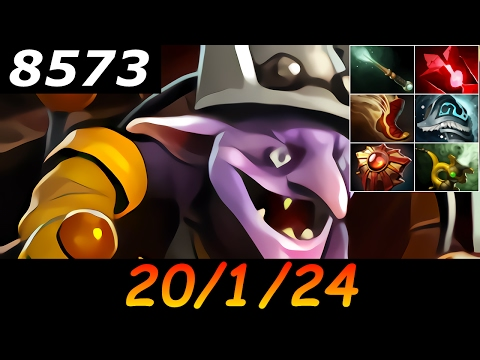 Dota 2 Timbersaw 8573 MMR 20/1/24 (Kills/Deaths/Assists) Ranked Full Gameplay