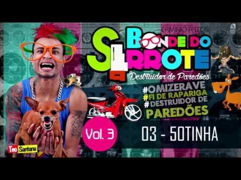 CD ERMINIO FÉLIX & BONDE DO SERROTE - O DESTRUIDOR DE  PAREDÕES - VOLUME 3 - COMPLETO