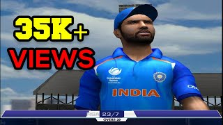 EA SPORTS CRICKET 2018 PC Gameplay - India Vs South Africa - 10 Overs Match part 2