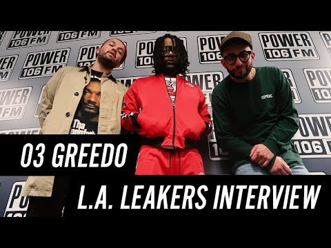 03 Greedo On Having 30 Albums Done, Doing 15 Songs A Day, Preparing For 20 Years in Prison & More!