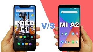 Poco F1 VS MI A2 Speed Test and Ram Management | Surprising Result 🔥🔥🔥