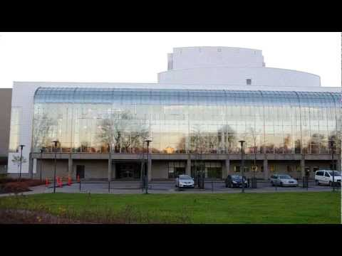 Finnish National Opera & Ballet Building exterior (part 02), Helsinki Finland