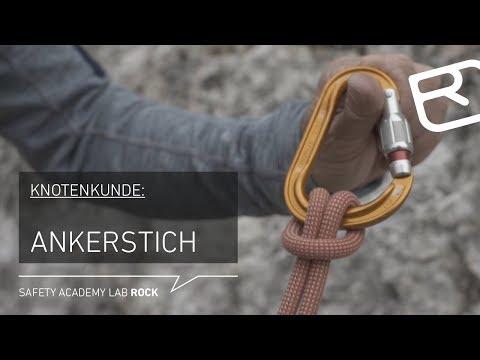 Klettergurt Alpinklettern : Ankerstich anleitung knotenkunde alpinklettern tutorial