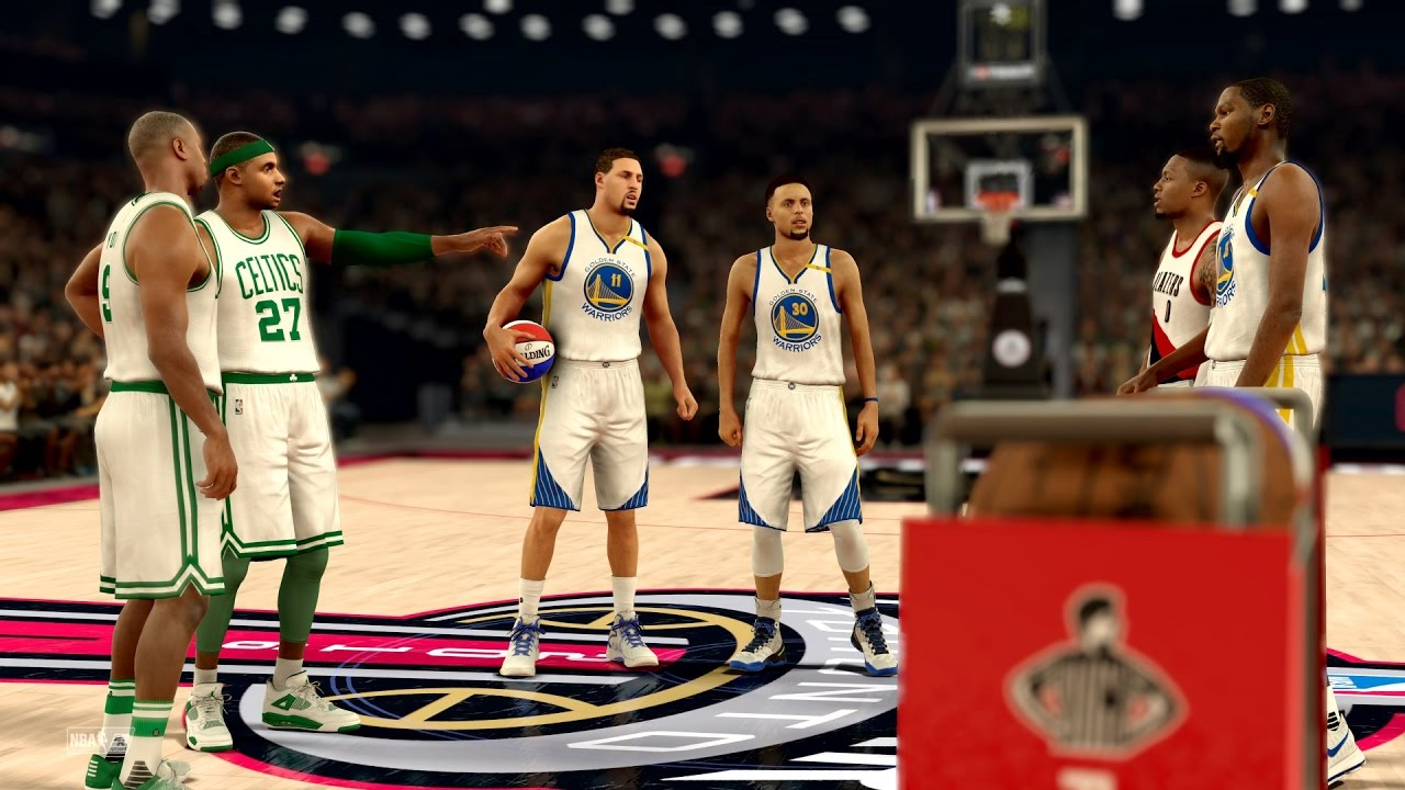 NBA 2K17 My Career - 3 Point Contest vs Curry, Durant, Klay! PS4 Pro 4K -  YouTube