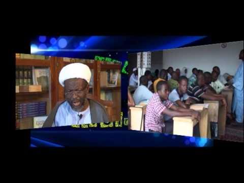 Cheikh Hassan Nsangou Mah Ousseni à MANEGE DU SAVOIR. Réalisation Martin KEE.