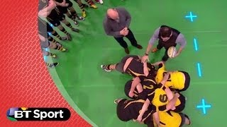 Pitch Demo: Scrummaging dark arts with Alex Sanderson and Lawrence Dallaglio