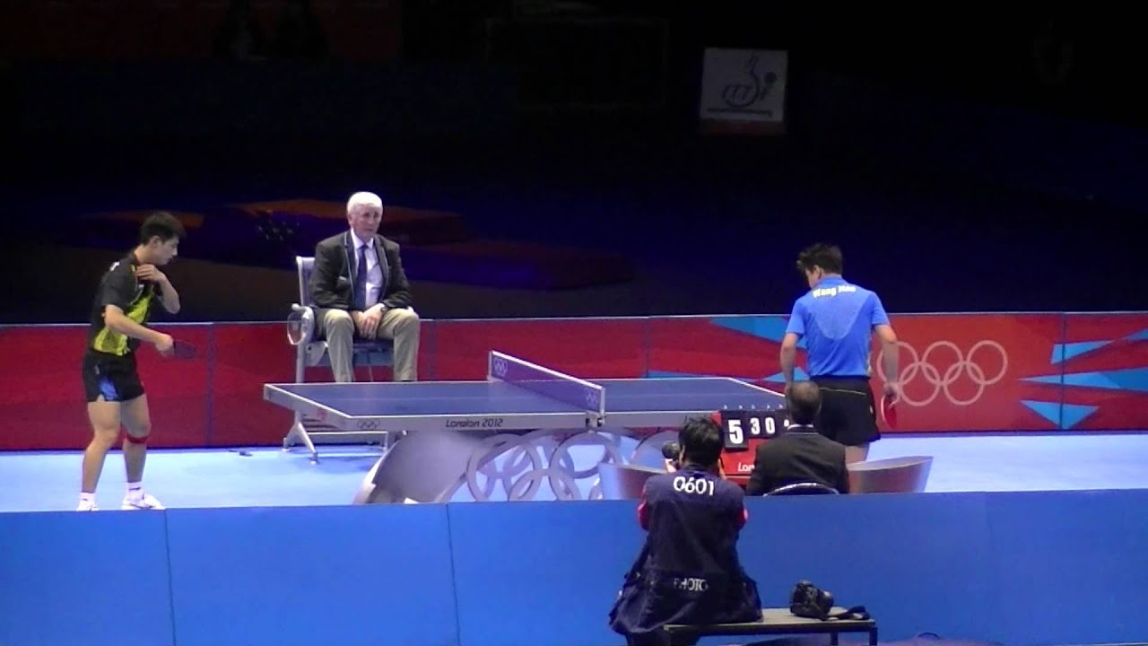 London 2012 Olympics Table Tennis Mens Finals