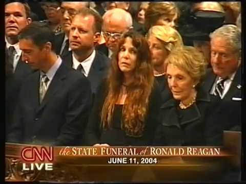 State funeral of Ronald Reagan CNN live coverage 6-11-2004