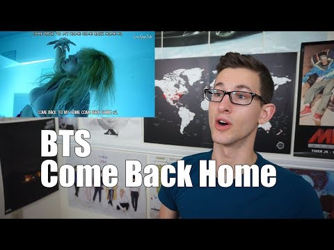 BTS - Come Back Home MV Reaction
