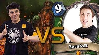 ZERATOR VS TORLK HEARTHSTONE !