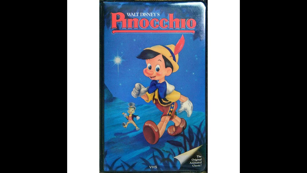 Opening to Pinocchio 1985 VHS (HD) - YouTube