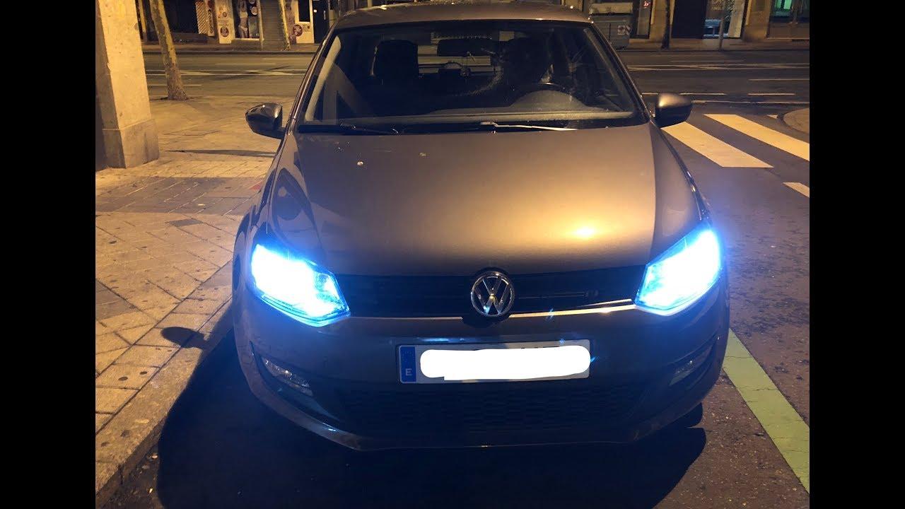 2017 Vw Jetta >> Instalar LED en faros VW POLO/ VENTO/ JETTA - YouTube