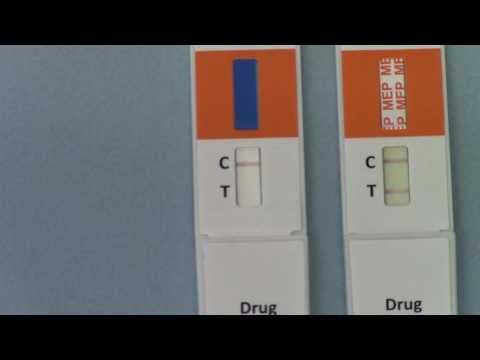 Positive and negative drug test results. A guide to interpreting urine drug test kit results