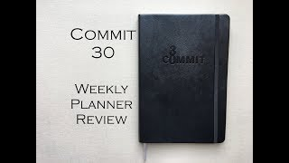 Commit 30 Planner Review & full walk-through!