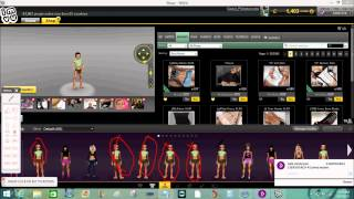 IMVU: How to save a outfit without buying it (ONLY WORKS IN SHOP)