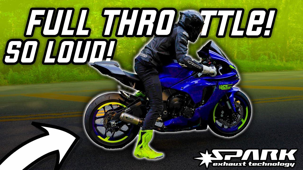 BEST SOUNDING 2021 Yamaha R1? Spark GP Titanium Full Exhaust!