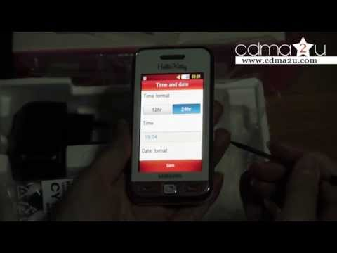 Unboxing & Setting : Samsung S5230 Hello Kitty Limited Edition