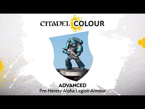 How to Paint: Pre-Heresy Alpha Legion Armour