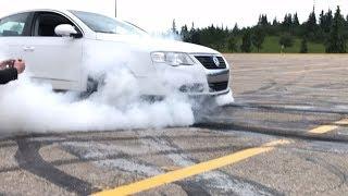 Burnout - FWD VW Passat B6