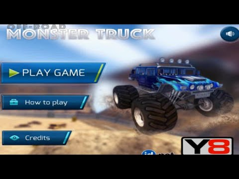 Play Monster Truck Off Road Webgl Game Online Free Car Games To