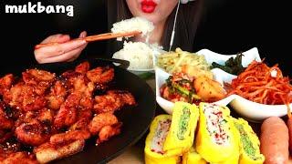 밥도둑 집밥먹방🍚제육볶음 계란말이 감자볶음 깻잎 소세지 김치 진미채 Korean Homemade Food MUKBANG