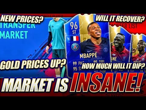 THIS MARKET IS INSANE!! PLAYER PRICES & ICON PACK! FIFA 19 Ultimate Team