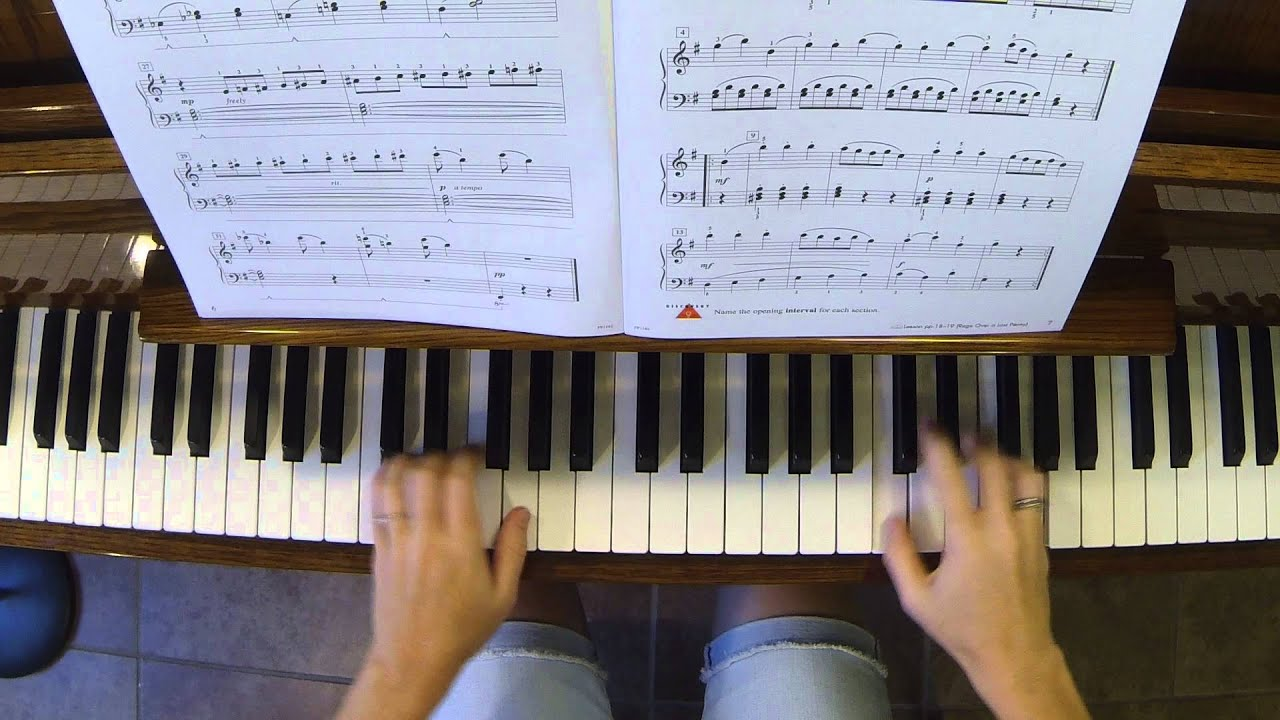 Mysterious Ballet Piano Adventures 3b Performance Book Youtube