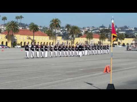 USMC Silent Drill Platoon, MCRD San Diego 2017