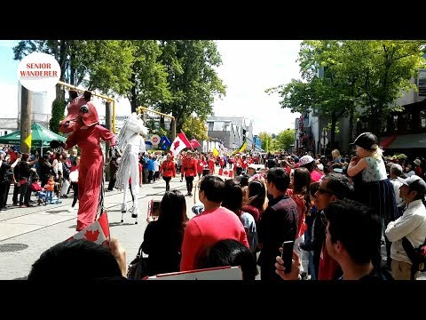 Vancouver Street Walk, EP 59 - Canada Day At Granville Island