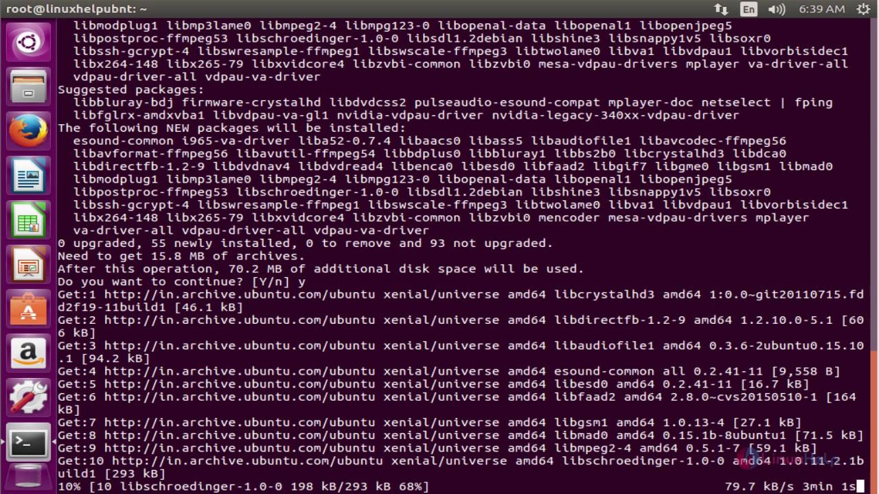 Uv4l Ubuntu