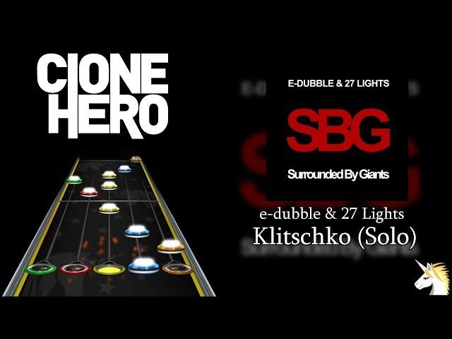 Clone Hero Chart Preview: e-dubble & 27 Lights - Klitschko (Solo)