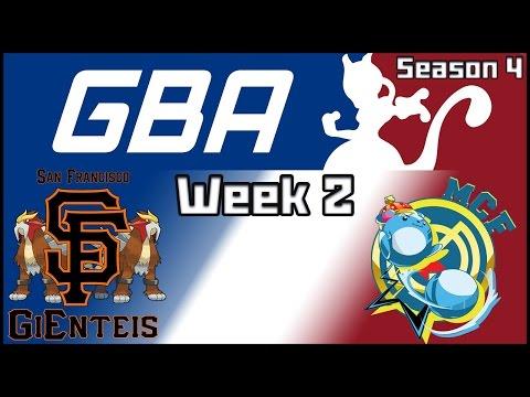 GBA Week 2 - San Francisco GiEnteis vs. Real Marill