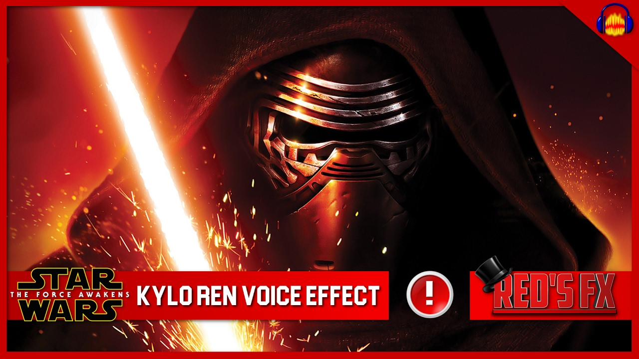 kylo ren voice effect audacity tutorial red 39 s fx youtube. Black Bedroom Furniture Sets. Home Design Ideas